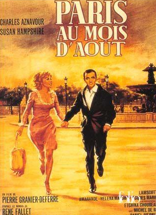 """Paris in August"": it's even a film (and a novel)."