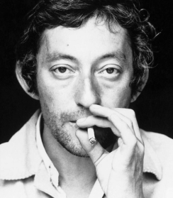 Serge Gainsbourg never quit smoking.