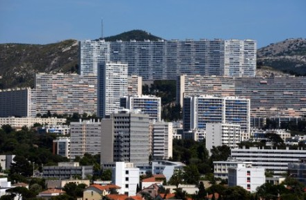 One of the banlieue in the north of Marseille where much of the violence takes place.