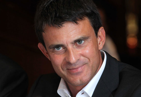 French Minister of the Interior, Manuel Valls.