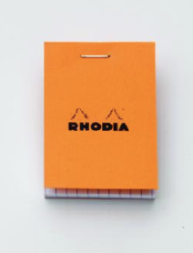 The famous Rhodia notepad.
