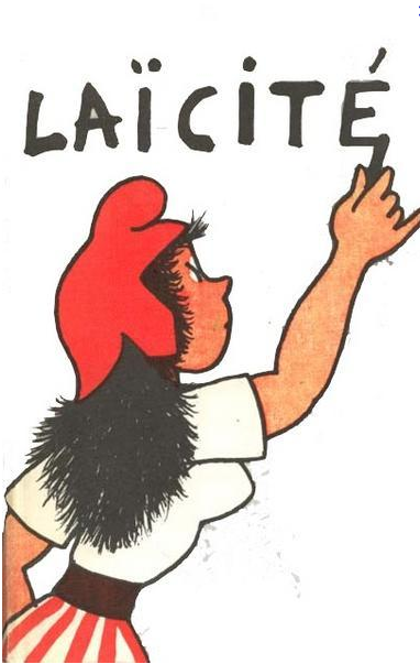 """Laïcité"" means secularism and is an important part of French identity."