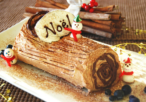 Having my yule log and eating it too.
