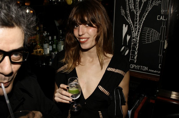 Lou Doillon, French actress, model and singer (and daughter of Jane Birkin and sister of Charlotte Gainsbourg) has the French thing going on.