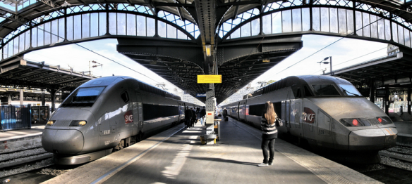 Over one million people took advantage of free SNCF train tickets.