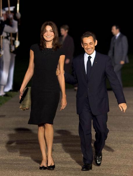 "Carla Bruni Sarkoy and former French preisdent Nicolas Sarkozy enjoy pretending that he is a ""kept"" man."